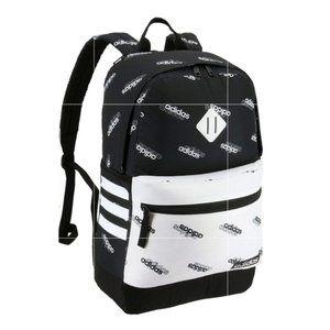 Adidas Black White Classic 3s Iii Backpack
